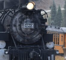 Steam Train Colorado Sticker