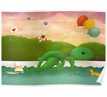 Bathtub Dreams Poster