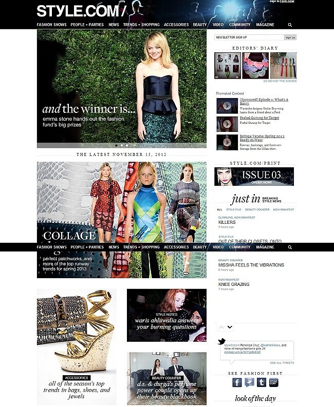 Primodels Review-November Edition of style Fashion Magazine by primodels