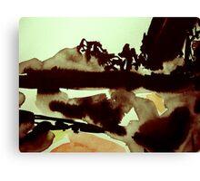 cloud shadows Canvas Print