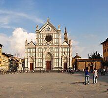 Piazza Santa Croce by Karen E Camilleri