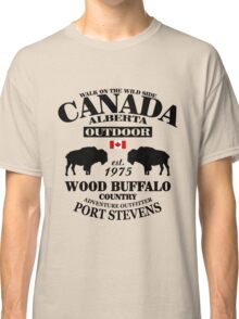 Alberta - Canadian Wood Buffalo Classic T-Shirt