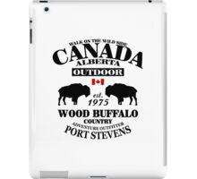 Alberta - Canadian Wood Buffalo iPad Case/Skin