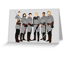 The Knights of Camelot, Merlin Greeting Card