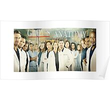 Grey's Anatomy-Cast Poster