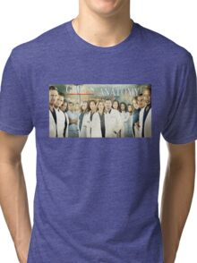 Grey's Anatomy-Cast Tri-blend T-Shirt