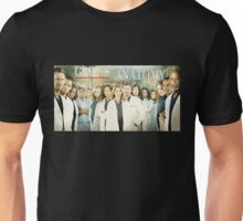 Grey's Anatomy-Cast Unisex T-Shirt