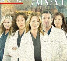 Grey's Anatomy-Cast Sticker