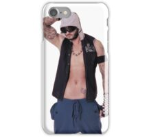 Muscular and sexy body of young sporty man iPhone Case/Skin