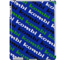 VW iPad case - Kombi Kombi Kombi - Blue iPad Case/Skin