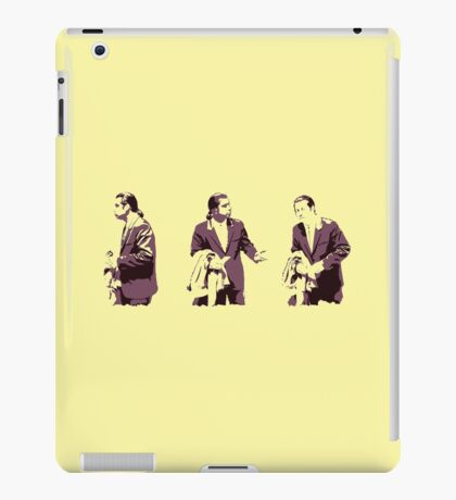 Vincent Vega hmm iPad Case/Skin