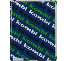 VW iPad case - Kombi Kombi Kombi - Navy Blue iPad Case/Skin