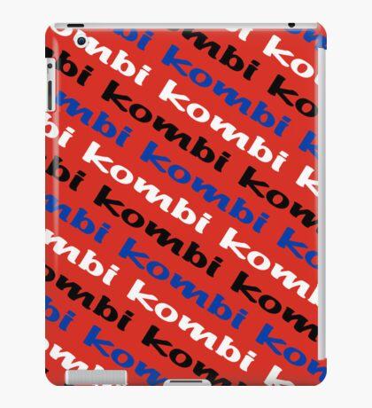 VW iPad case - Kombi Kombi Kombi - RED iPad Case/Skin