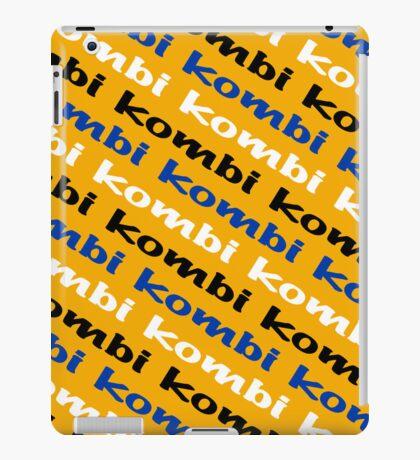 VW iPad case - Kombi Kombi Kombi - Yellow iPad Case/Skin