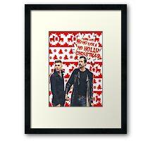 Stendan [Ho Ho Holly Xmas]] Framed Print