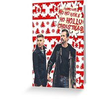 Stendan [Ho Ho Holly Xmas]] Greeting Card