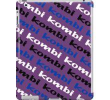 VW iPad case - Kombi Kombi Kombi - Purple iPad Case/Skin