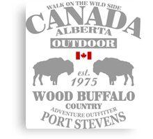 Alberta - Canadian Wood Buffalo Canvas Print