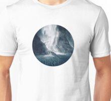 Bowen Falls, New Zealand Unisex T-Shirt