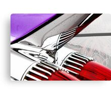Cadillac Fins Wall Art Canvas Print