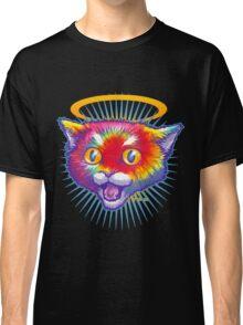 Hippie Kitty Angel Classic T-Shirt
