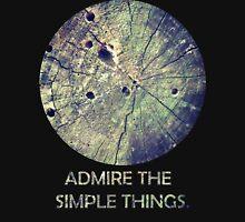 Admire The Simple Things Zipped Hoodie
