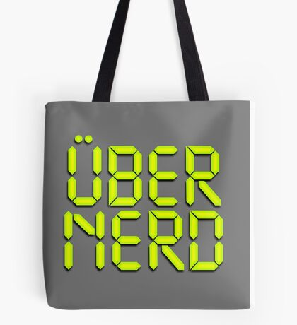 Uber Nerd (Über Nerd) Tote Bag