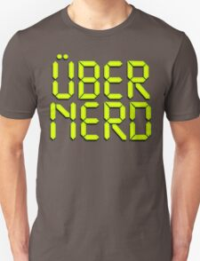 Uber Nerd (Über Nerd) T-Shirt