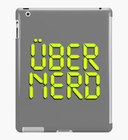 Uber Nerd (Über Nerd) iPad Case/Skin