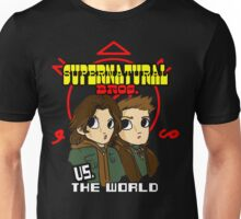 Supernatural Bros. Vs. The World!!! Unisex T-Shirt