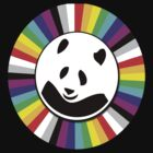 rainbow panda by benyuenkk