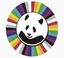 rainbow panda by benyuenkk