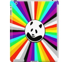 rainbow panda iPad Case/Skin