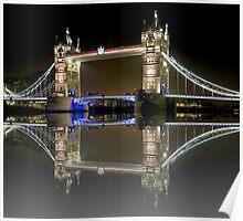 London Symmetry Poster