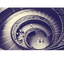 Rome VII. Vatican stairs.  Photographic Print