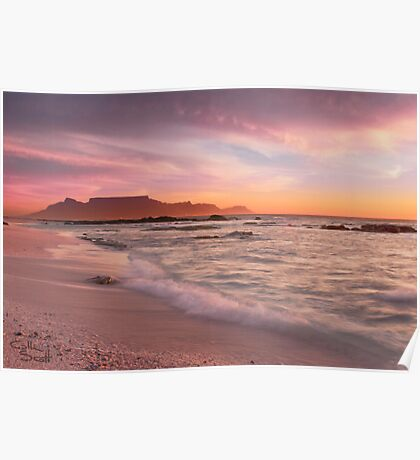 Beautiful Cape Town Poster