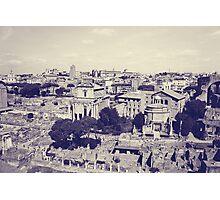 Rome X. Roman Forum.  Photographic Print