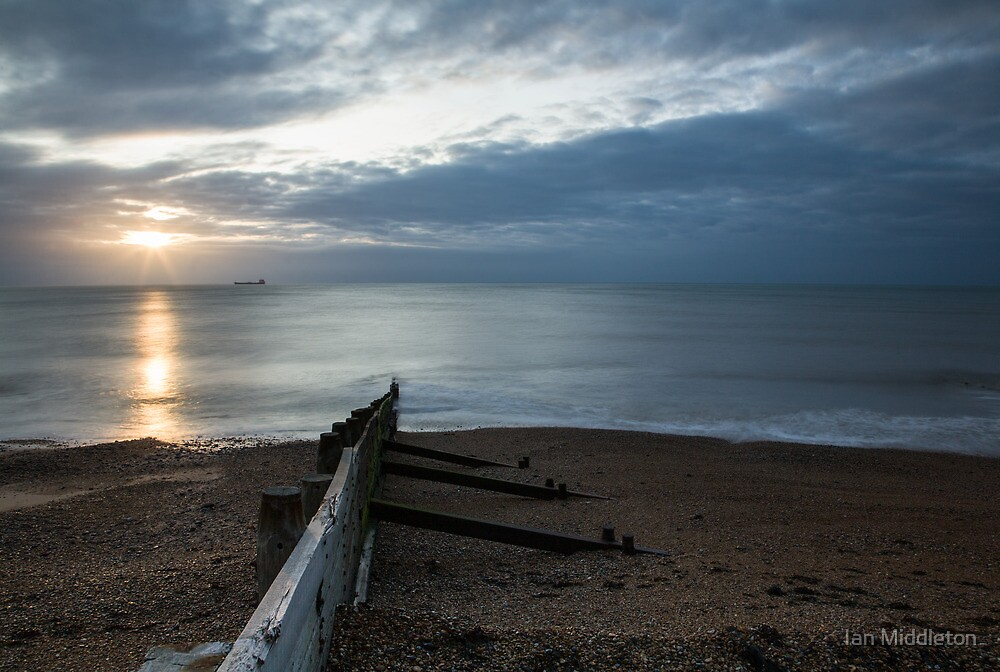 Sunrise at Kingsdown by Ian Middleton