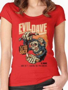 Evil Dave Women's Fitted Scoop T-Shirt