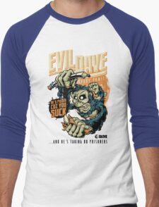 Evil Dave Men's Baseball ¾ T-Shirt