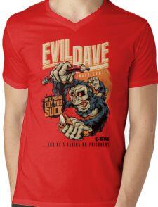 Evil Dave Mens V-Neck T-Shirt