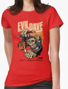 Evil Dave Womens Fitted T-Shirt