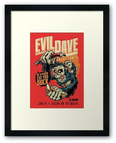 Evil Dave by bobmosquito