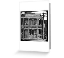 Small Town Dowtown: A Kiss Goodbye Greeting Card