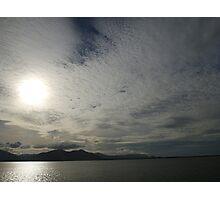 Silver Sea3 Photographic Print