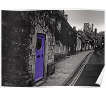 Purple door Poster