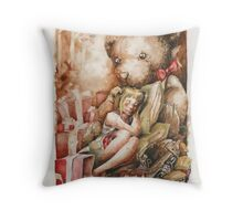 Nut Cracker Fairytale Throw Pillow