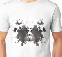 Rorschach test 01 Unisex T-Shirt