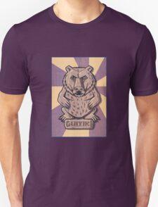 Guitiki - Bear - Retro T-Shirt