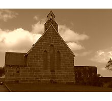 St.Anglican Church, Gosford Photographic Print